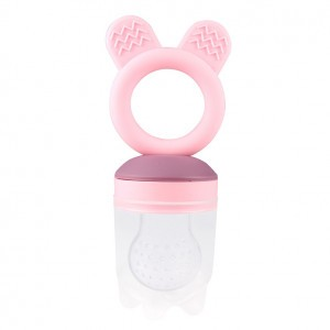 Haakaa Teething Feeder Roze