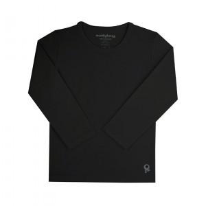 Mambotango T-shirt lange mouwen Zwart