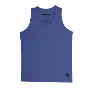 Mambotango T-shirt zonder mouwen Blauw