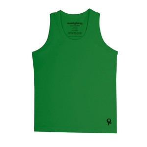 Mambotango T-shirt zonder mouwen Groen