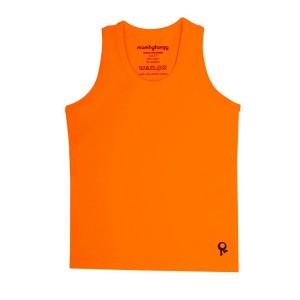 Mambotango T-shirt zonder mouwen Oranje