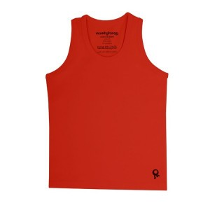 Mambotango T-shirt zonder mouwen Rood
