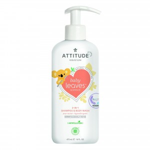 Attitude Baby Leaves 2-in-1 Shampoo & Body Wash Pear Nectar (473 ml)