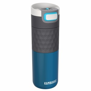 Kambukka Thermische Drinkfles ETNA 500 ml Ocean GRIP Blauw