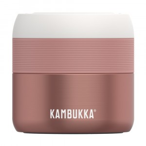 Kambukka Vacuum Insulated Food Jar (400 ml) Misty Rose