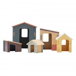 Kid's Concept Kleine Houten Huisjes