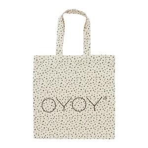 Oyoy Tote Bag Offwhite / Garden Green