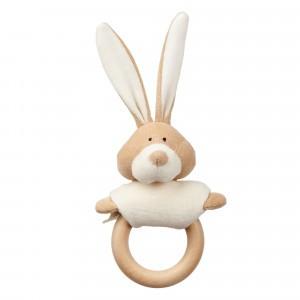 Wooly Organic Rammelaar/Bijtring Bunny