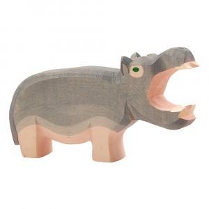 Ostheimer Wilde dieren Nijlpaard muil open (4,5cm)