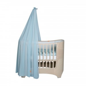 Leander Klamboe voor Classic Babybed, Dusty Blue