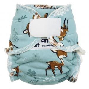 Anavy Newborn Luier met Velcro Bambi Blauw (2-6 kg)