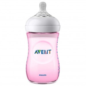 Avent Natural 2.0 Zuigfles 260 ml Roze