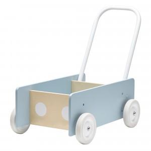 Kid's Concept Loopwagen Blauw