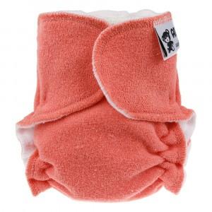 Anavy Velours Newborn Luier zonder sluiting Oranje (2-6 kg)