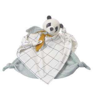 Kikadu Knuffeldoekje Panda
