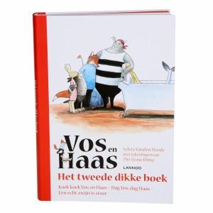 Lannoo Boek Vos en Haas 'Het tweede dikke boek'