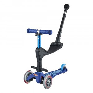 Micro Step Mini Deluxe 3 in 1 Blue (Push Bar)