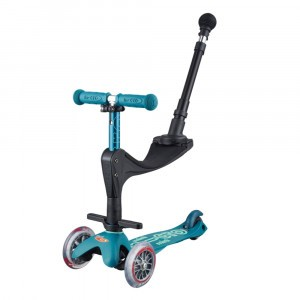 Micro Step Mini Deluxe 3 in 1 Ice Blue (Push Bar)