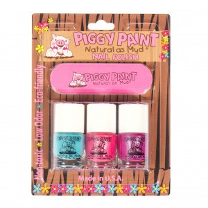 Piggy Paint Mini Set (Forever Fancy, Girls Rule, Sea-Quin + vijl)