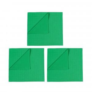 Mundo Melocoton Tetradoek Klein Set van 3 Groen
