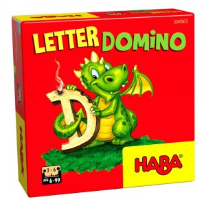 Haba Supermini Spel Letterdomino