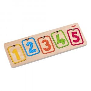 Haba Houten Puzzel Eerste cijfers