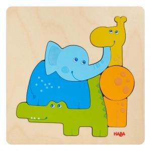 Haba Houten Puzzel Zoodieren