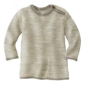 Disana Trui Melange Grey Natural (50/56-62/68)