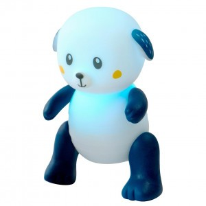 Pabobo Nachtlampje Lumilove Rainbow Dog - Blauw