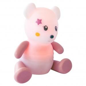 Pabobo Nachtlampje Lumilove Rainbow Muis - Roze