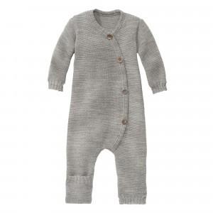 Disana Gebreide Jumpsuit Grey (50/56-62/68)