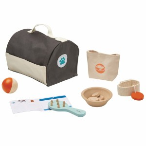 PlanToys Tas Dierenzorg Set
