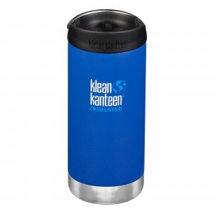 Klean Kanteen Thermosbeker TKWide met Café Cap (355 ml) Deep Surf