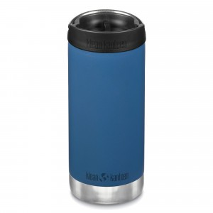 Klean Kanteen Thermosbeker TKWide met Café Cap (355 ml) Real Teal