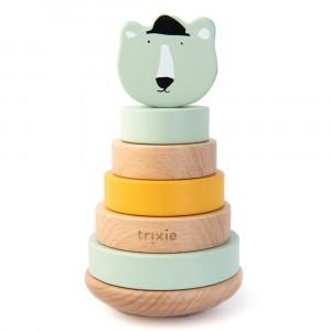 Trixie Houten Stapeltoren Mr. Polar Bear