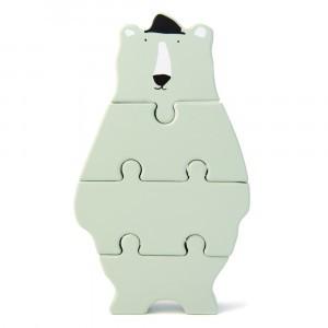 Trixie Houten Dierenvormpuzzel Mr. Polar Bear
