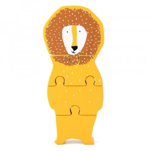 Trixie Houten Dierenvormpuzzel Mr. Lion