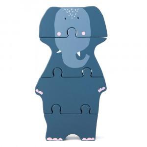 Trixie Houten Dierenvormpuzzel Mrs. Elephant