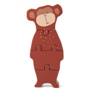 Trixie Houten Dierenvormpuzzel Mr. Monkey