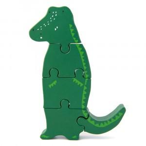 Trixie Houten Dierenvormpuzzel Mr. Crocodile