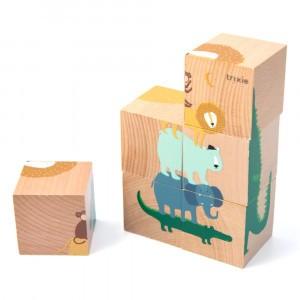 Trixie Houten Puzzelblokken