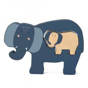 Trixie Houten Babypuzzel Mrs. Elephant