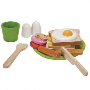 PlanToys Keuken Ontbijt Set