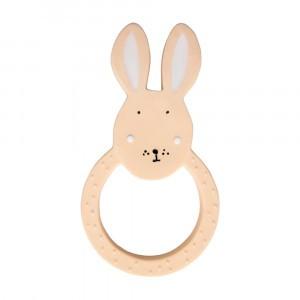 Trixie Natuurlijk Rubber Ronde Bijtring Mrs. Rabbit