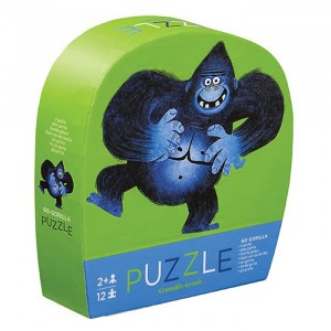 Crocodile Creek puzzel mini Go Gorilla (12 stukken)