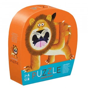 Crocodile Creek puzzel mini Lion Roar (12 stukken)