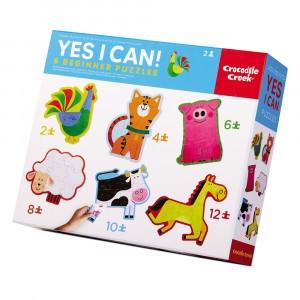 Crocodile Creek Beginner Puzzel Yes I Can/Barnyard