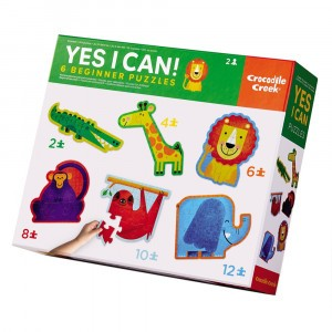 Crocodile Creek Beginner Puzzel Yes I Can/Jungle