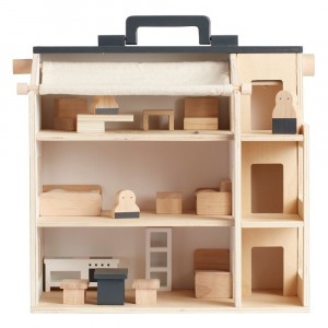 Kid's Concept Meeneempoppenhuis Studio Aiden (inclusief accessoires)