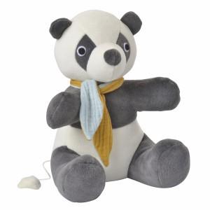 Kikadu Muziekknuffel Panda